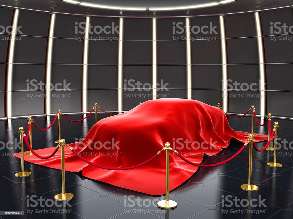 New car model exhibition royalty-free stock photo