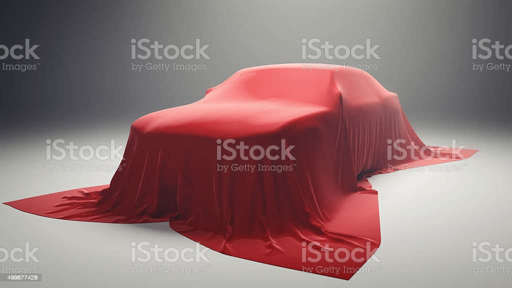 New Car Model Presentation stock photo