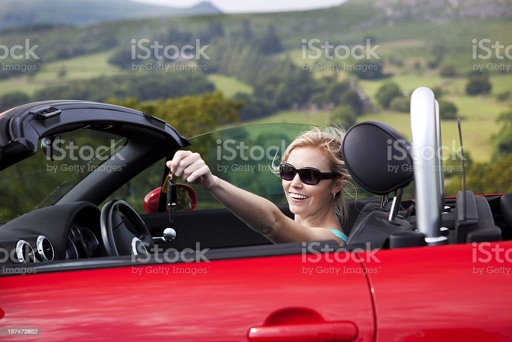 New car stock photo