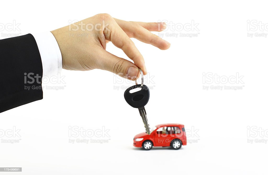 New car royalty-free stock photo