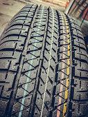 New car tire