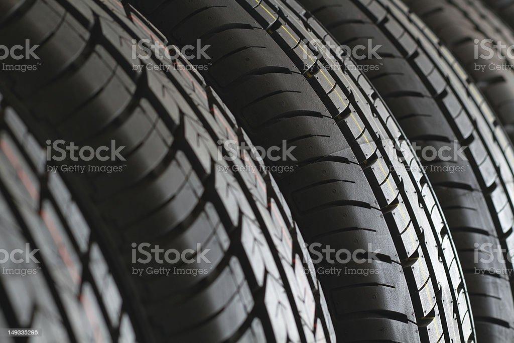 New Car Tires stock photo