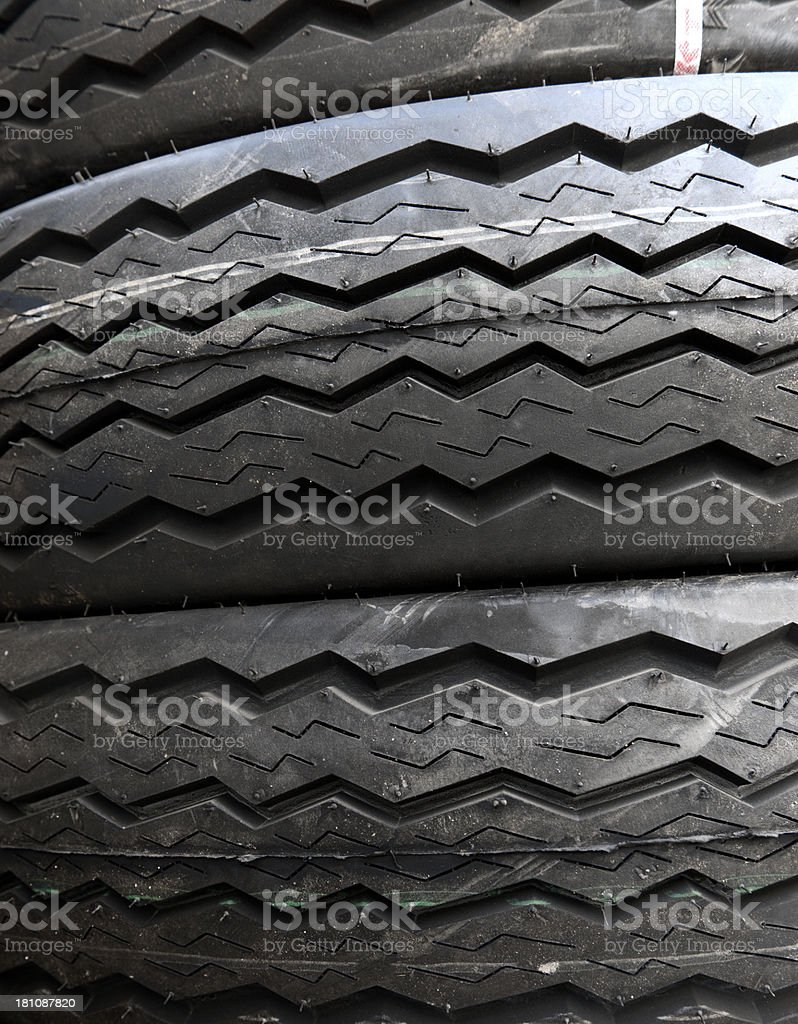 new car tires stock photo