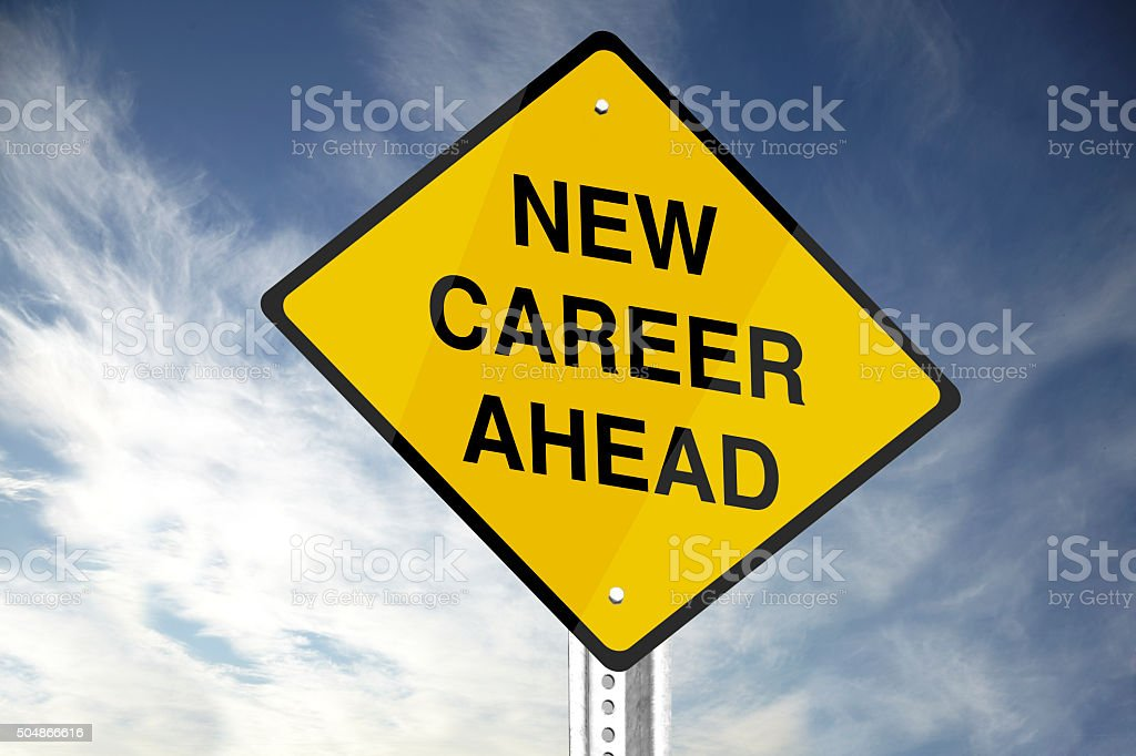 New Career Ahead stock photo