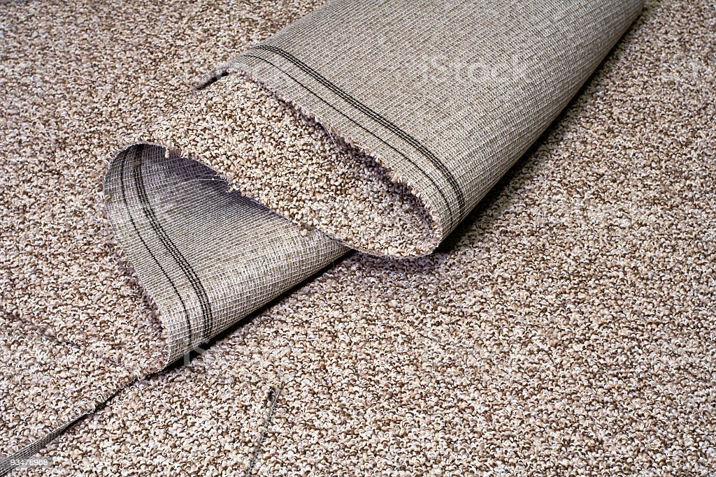 New Carpet stock photo