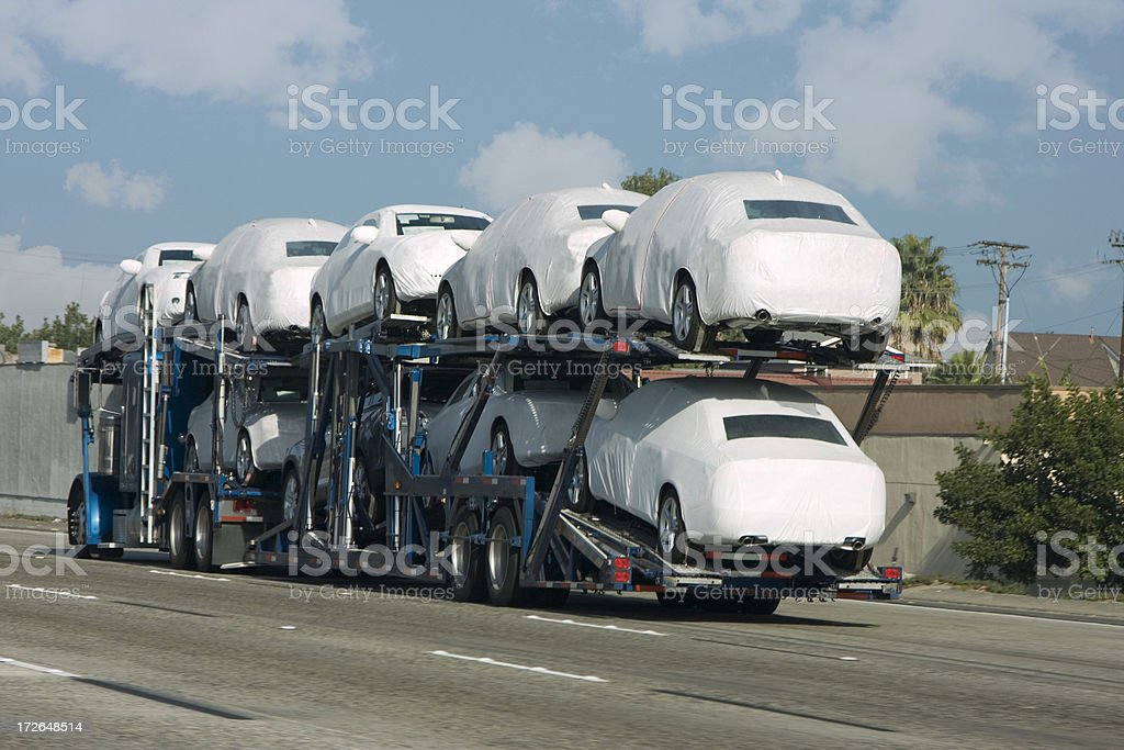 new cars royalty-free stock photo