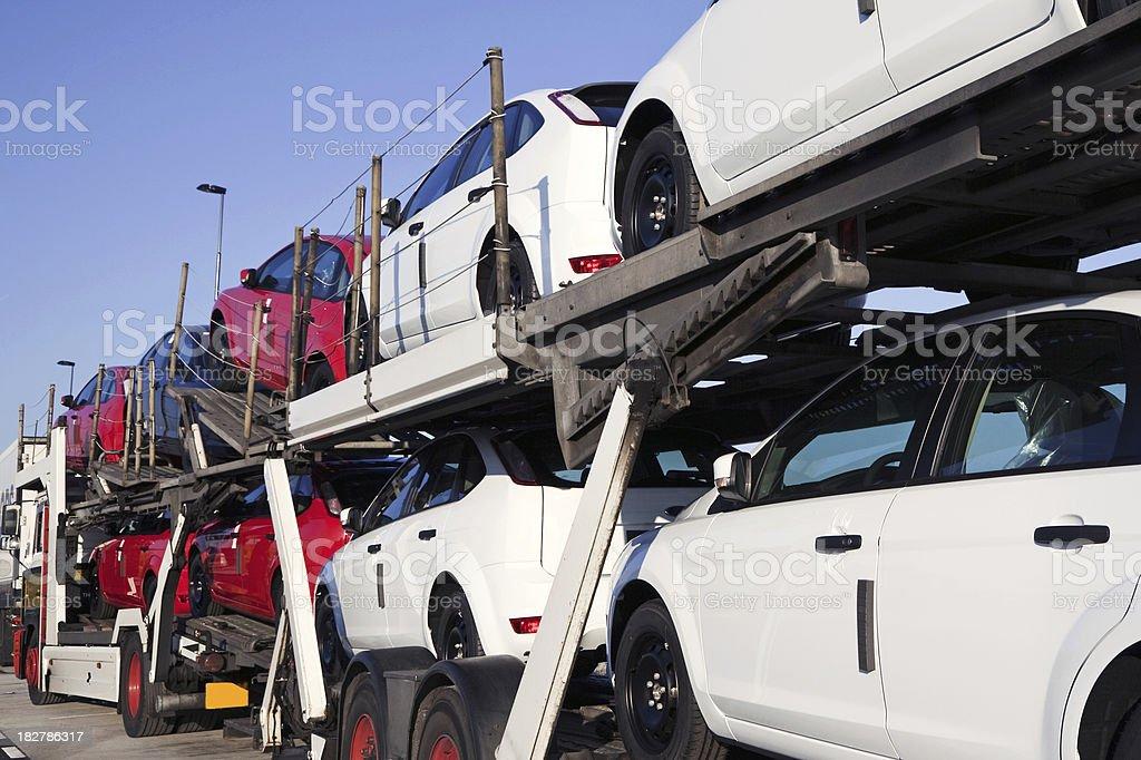 New cars transportation # 3 stock photo