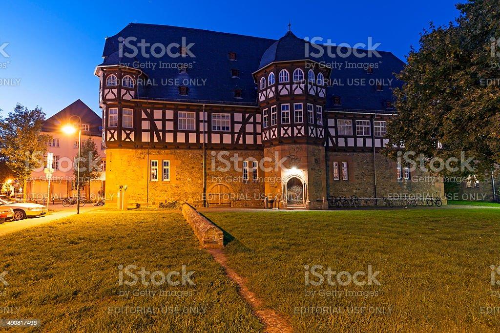 New Castle of Giessen stock photo