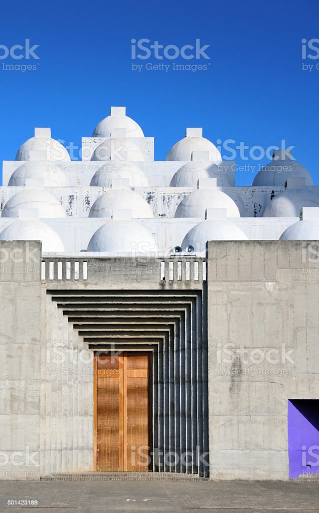 New Cathedral of Managua, Nicaragua - Nueva Catedral stock photo