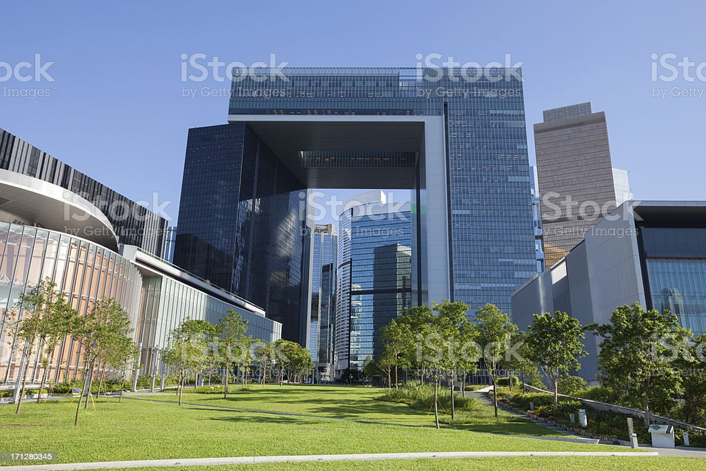 New Central Government Complex royalty-free stock photo
