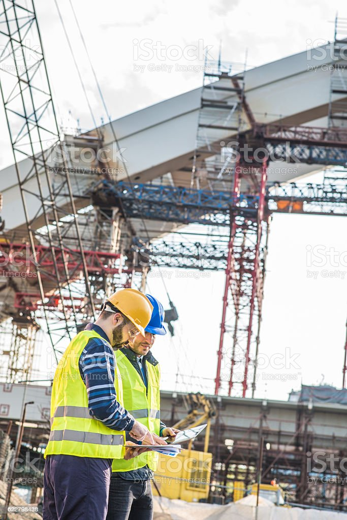 New century with new mega-structure projects in Europe stock photo