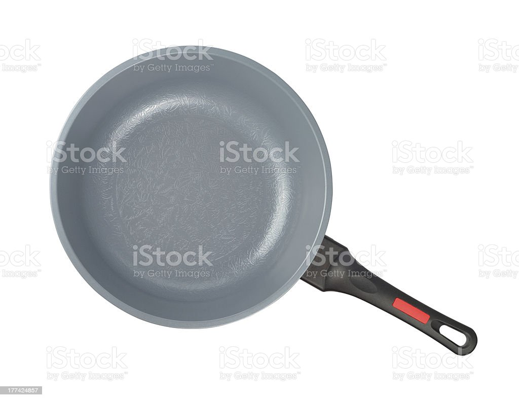 New Ceramic Pan stock photo