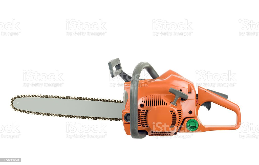 New Chainsaw royalty-free stock photo