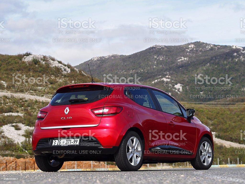 New Clio back royalty-free stock photo