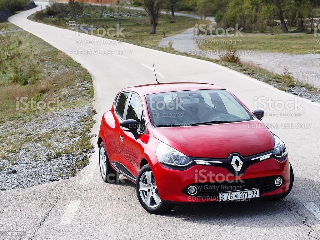 New Clio front stock photo
