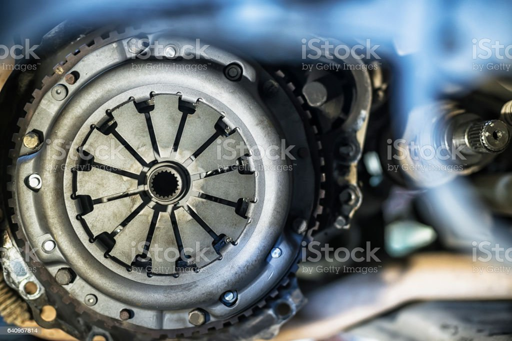 New clutch basket with shallow depth of field stock photo