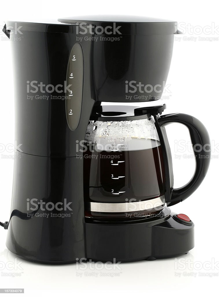 New Coffee Maker royalty-free stock photo