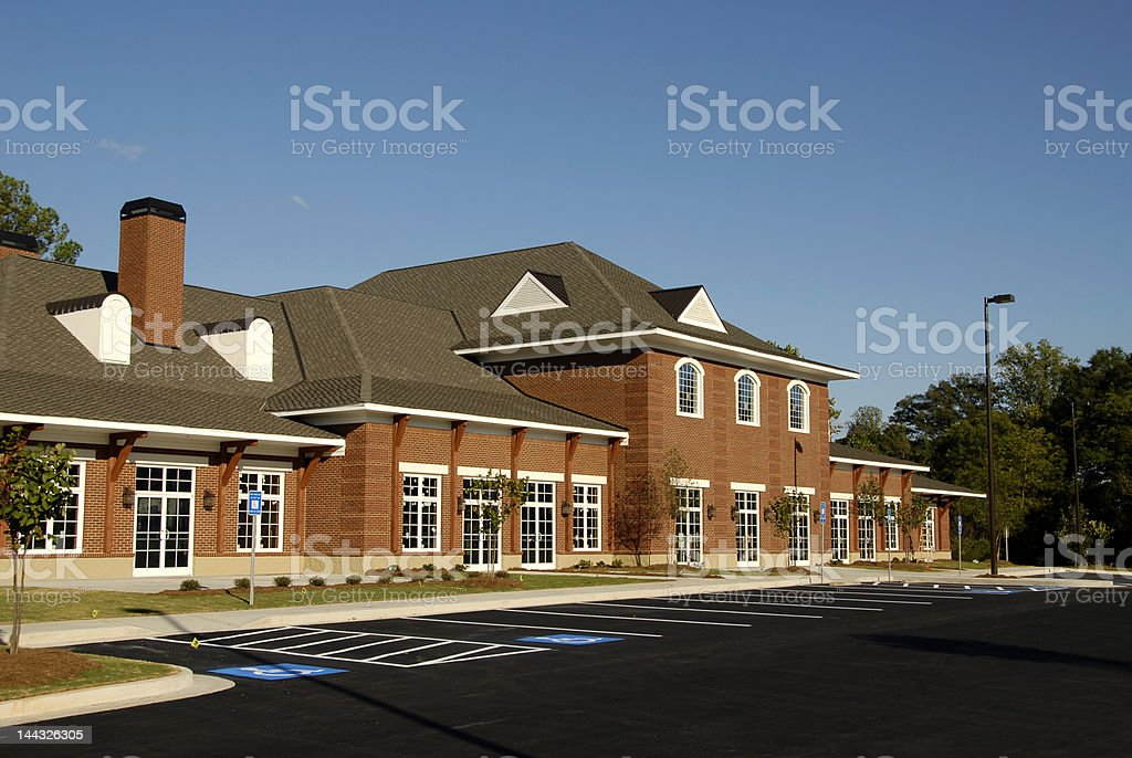 New Commercial-Retail-Office-Medical Space royalty-free stock photo