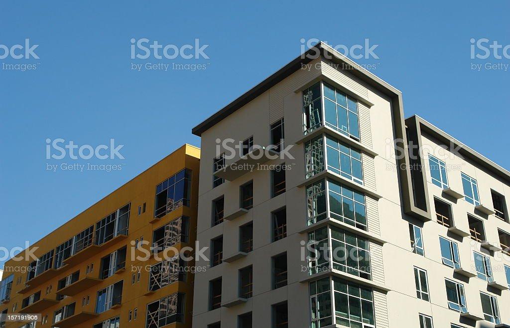 New Condominium Development royalty-free stock photo