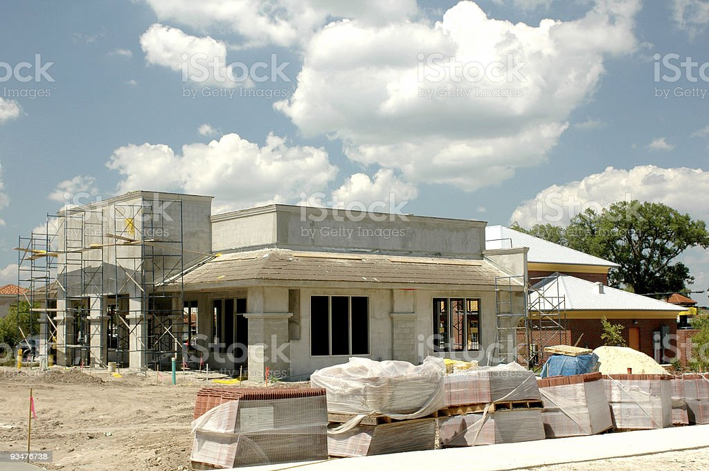 New Construction 1 royalty-free stock photo