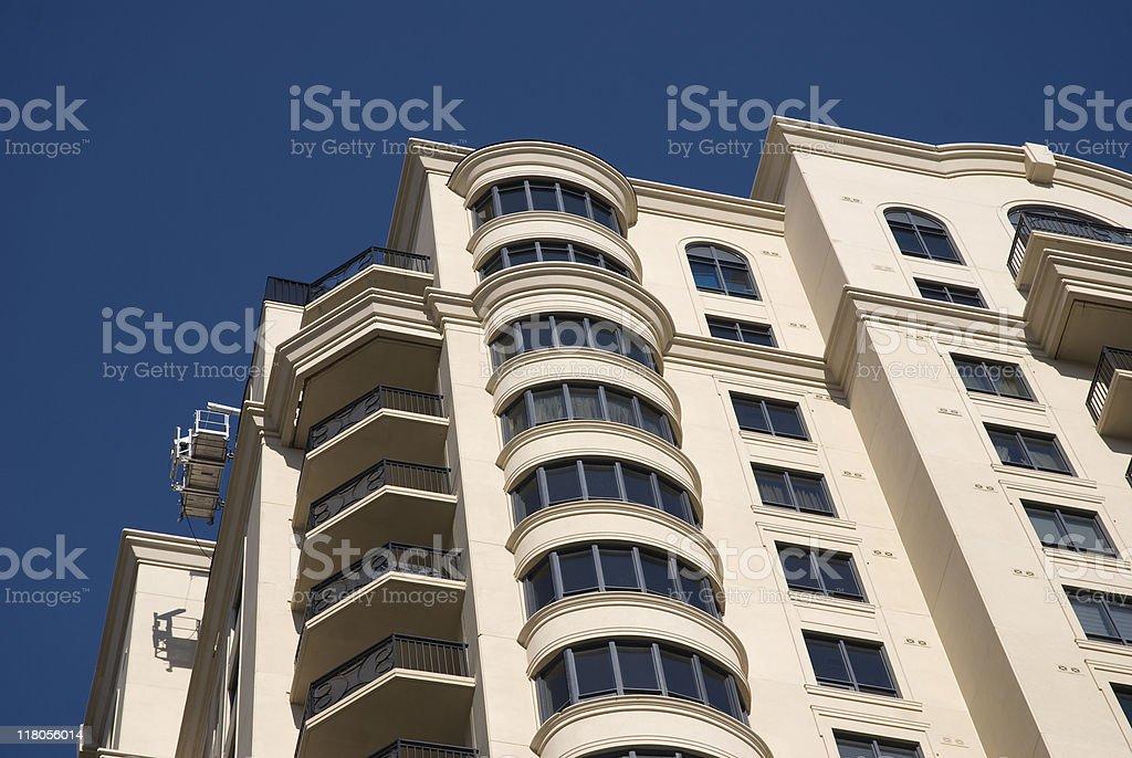 New construction / condominium / hotel royalty-free stock photo