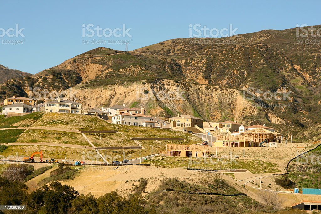 New Construction for Houses royalty-free stock photo