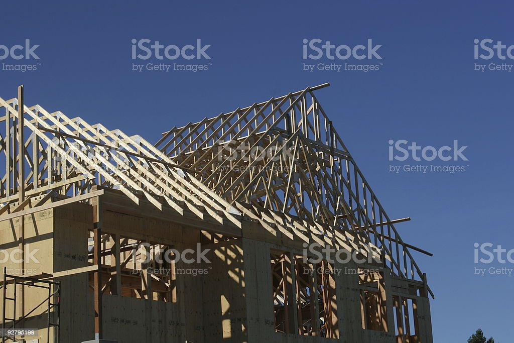 New construction -home royalty-free stock photo