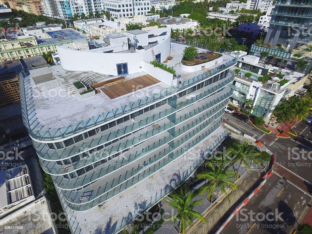 New construction Miami Beach stock photo