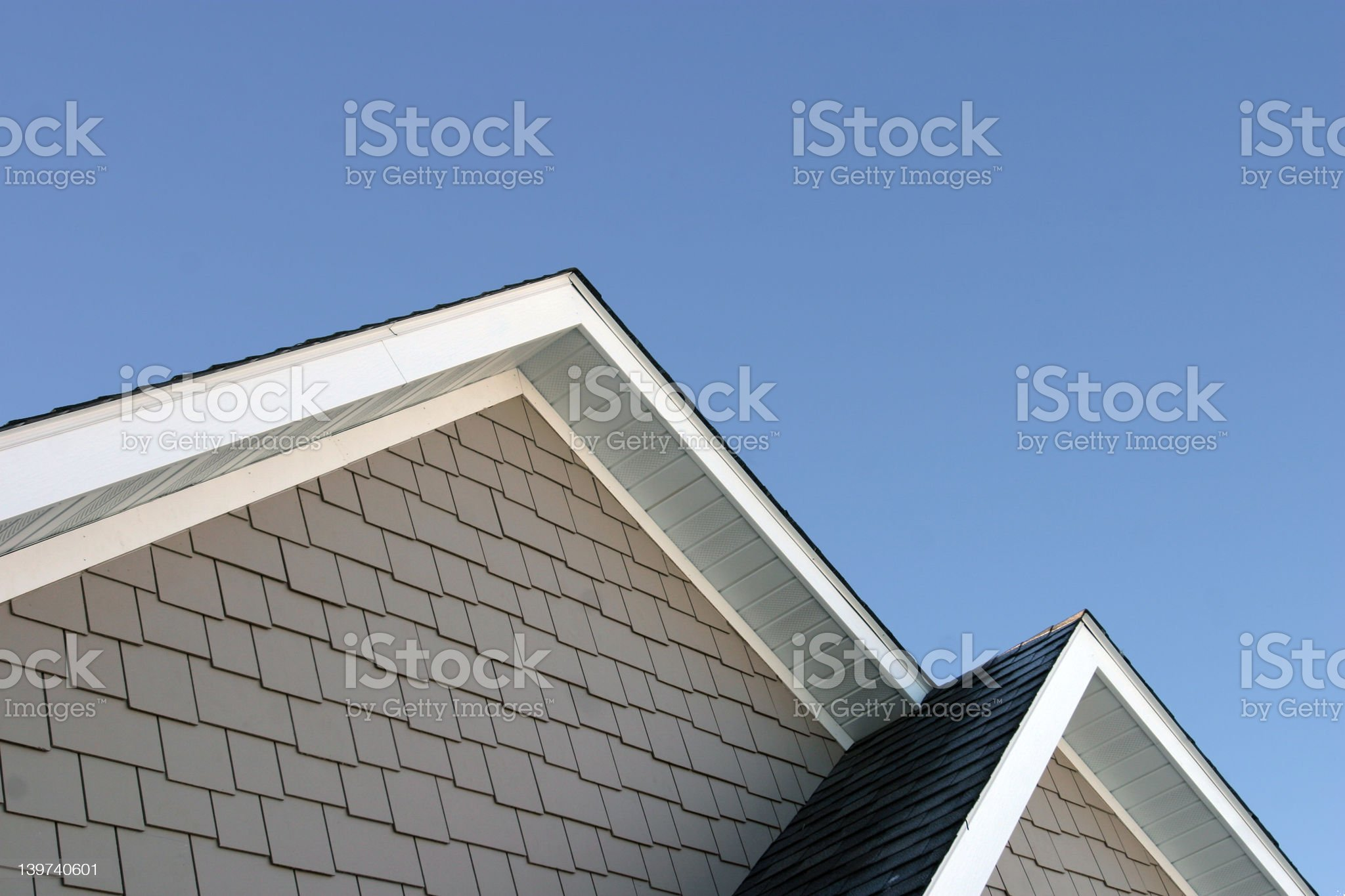 New Construction Peaks royalty-free stock photo