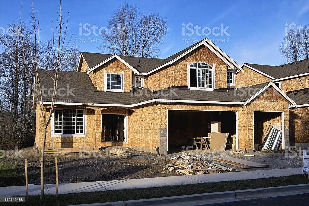 New Construction royalty-free stock photo