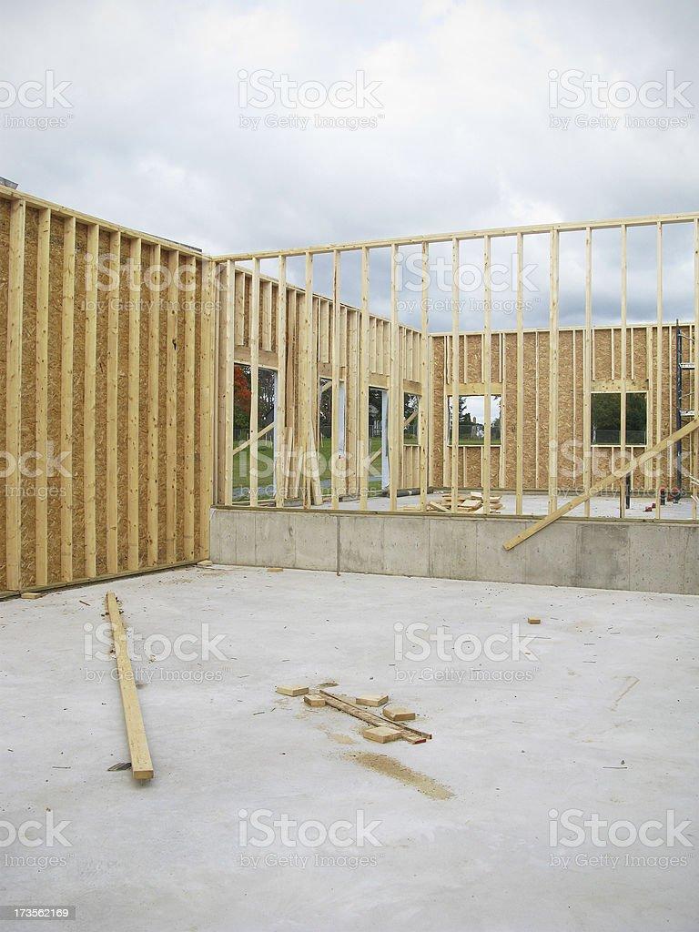 New Construction. royalty-free stock photo