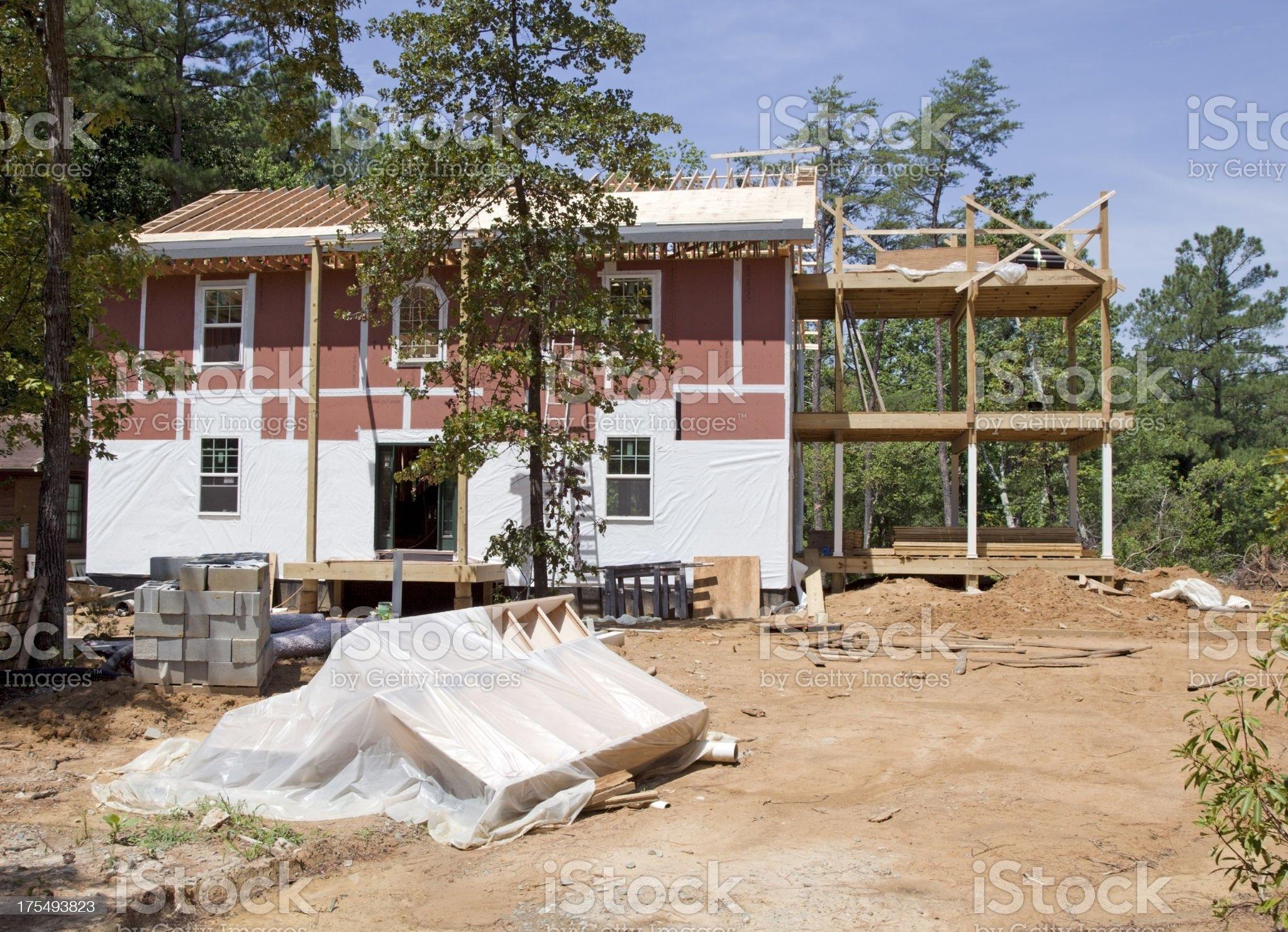 New Construction royalty-free stock photo