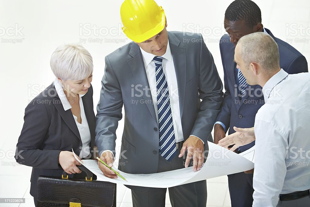 New construction project royalty-free stock photo
