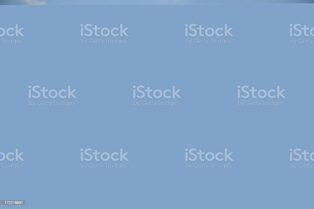 New construction strip mall or shopping center. Empty. Retail stores. royalty-free stock photo