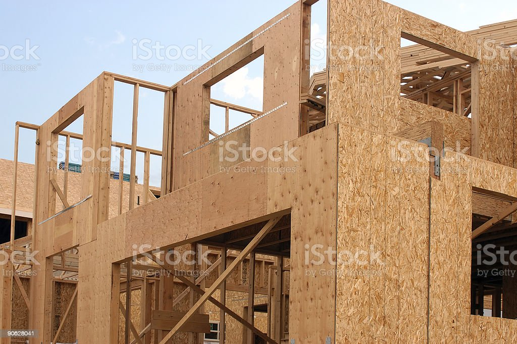 new construction unfinished royalty-free stock photo