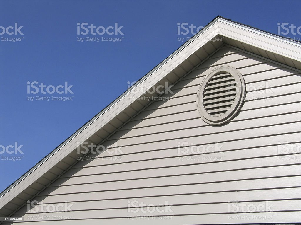New Construction-House royalty-free stock photo