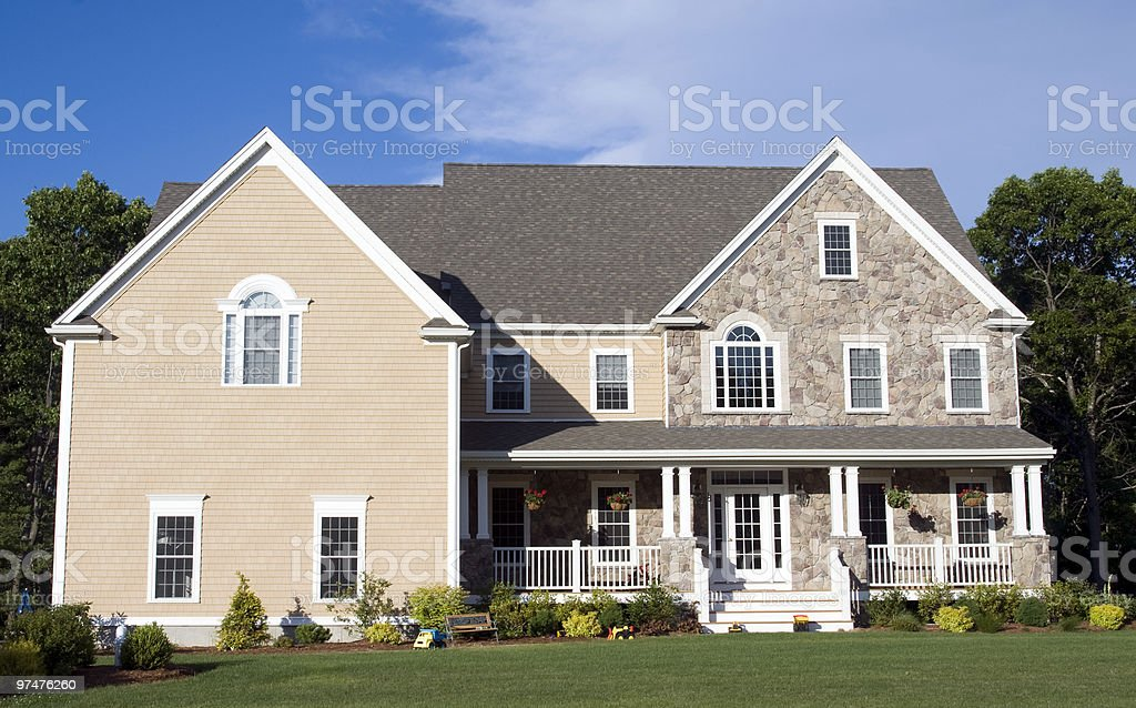 New Contemporary House royalty-free stock photo