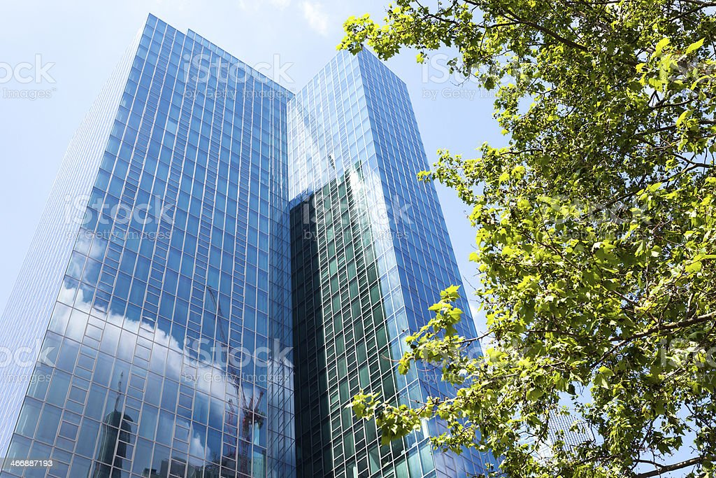 New Corporate Building royalty-free stock photo