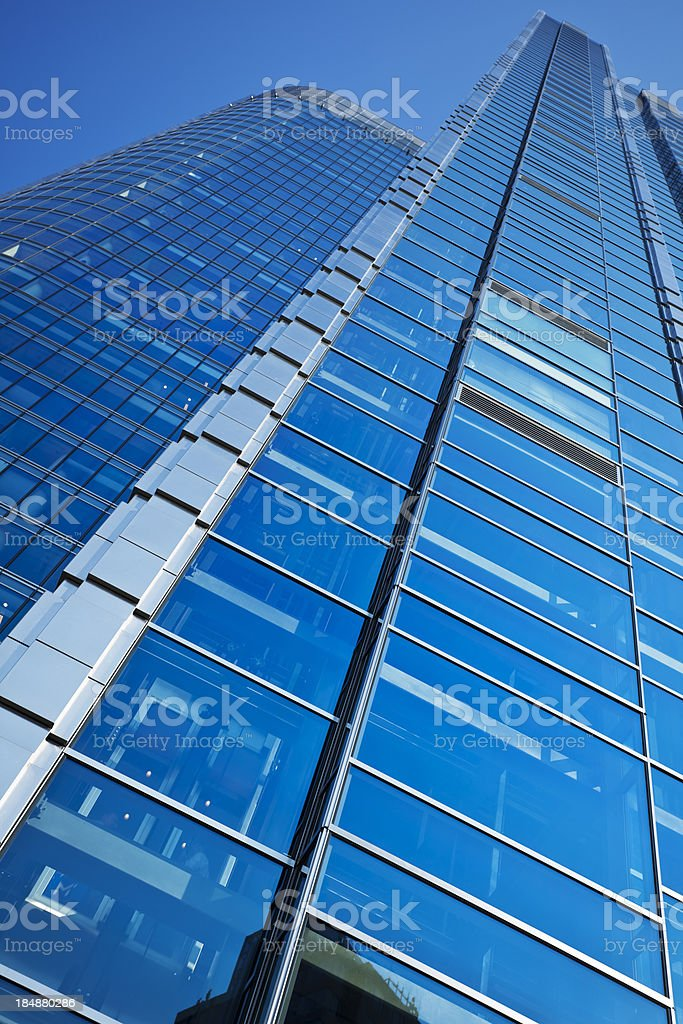 New Corporate Office Building royalty-free stock photo