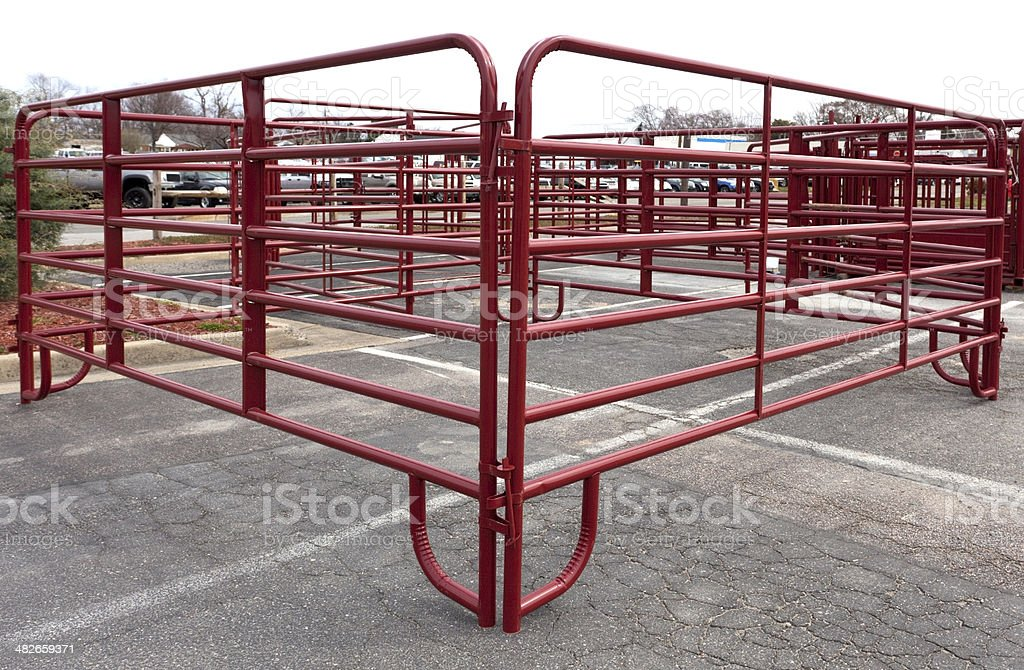 New Corral stock photo