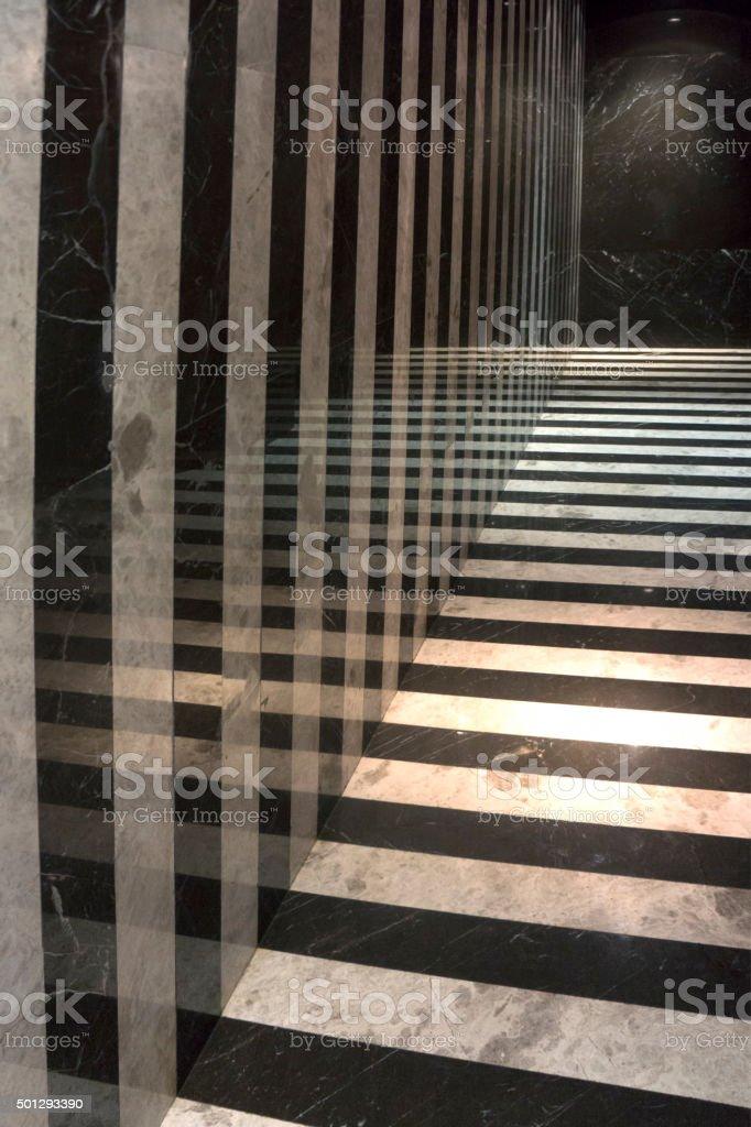 New Corridor stock photo