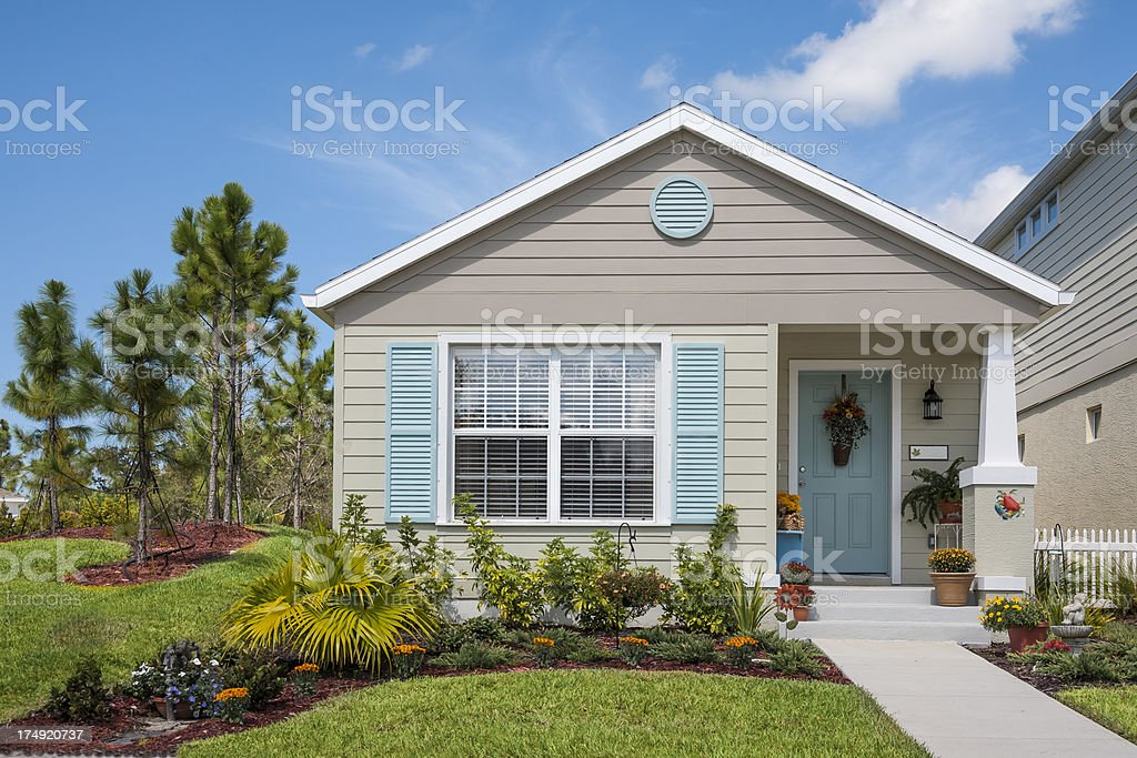New Cottage royalty-free stock photo