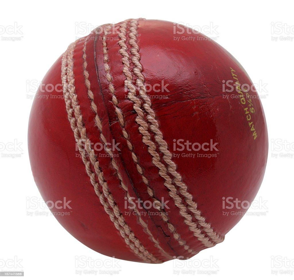 New cricket ball stock photo