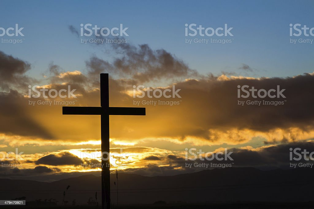 New Cross Hope stock photo