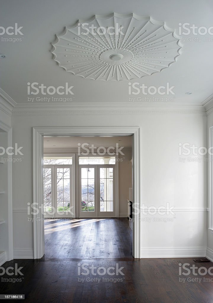 New Custom Home royalty-free stock photo