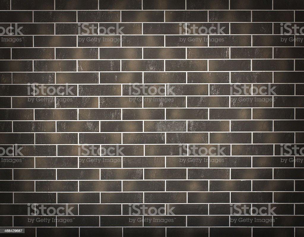 new dark brick wall background royalty-free stock photo