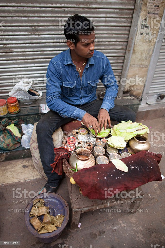 New Delhi daily life stock photo