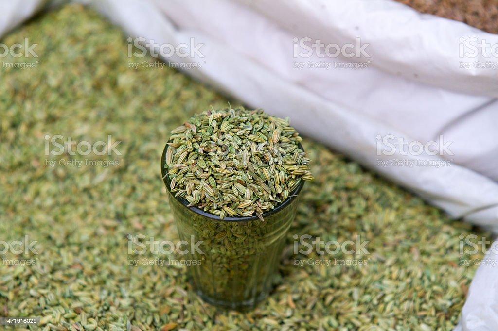 New Delhi spice market royalty-free stock photo