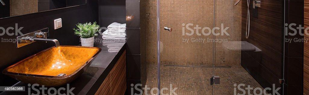 New design washbasin stock photo
