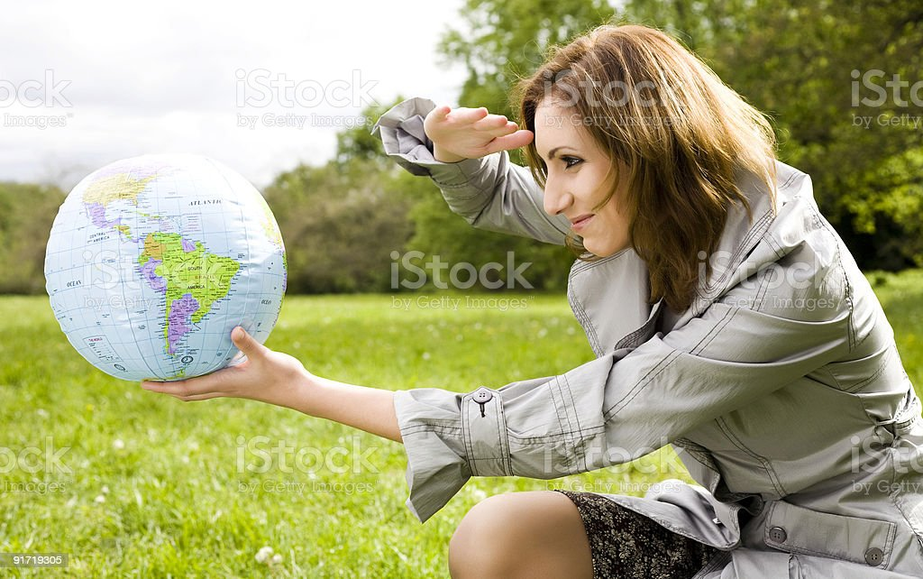New Destination royalty-free stock photo
